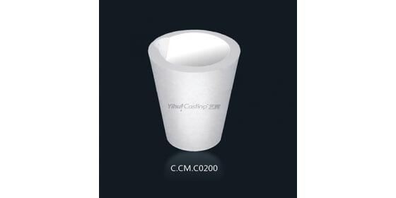 C200 Ceramic melting crucible