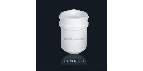 1.5kg Ceramic melting crucible