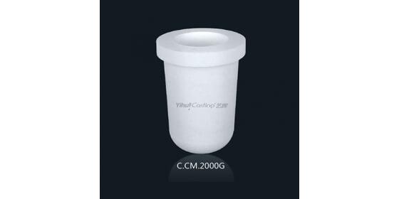 2000g Ceramic melting crucible