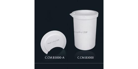 3kg Ceramic melting crucible