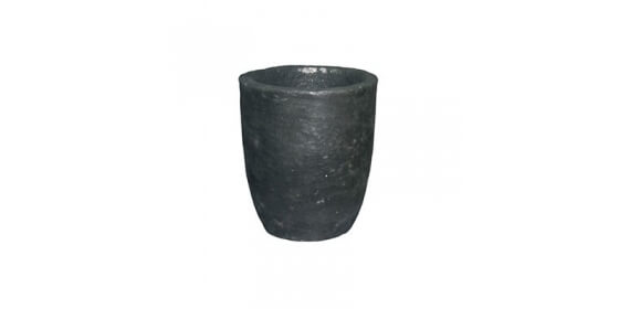 Clay-graphite cruciblee