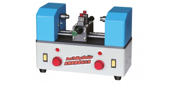 Double heads high precision pearl drilling machine ZK-B