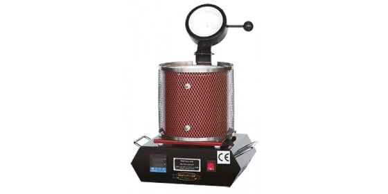 Electrical melting furnace for 1 kg - red