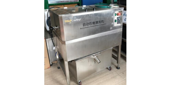 Fully automatic investment cleaning machine