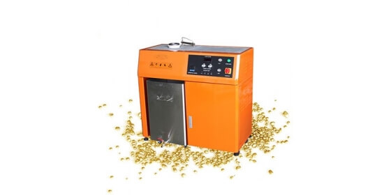 Gold beads granulating machine