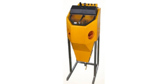 Large type Sanding blasting Machine with support