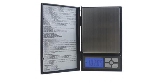 Notebook pocket digital scale