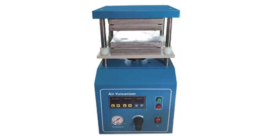 Pneumatic mould vulcanizer