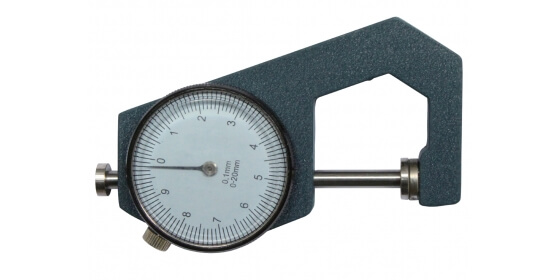 Round table micrometer caliper
