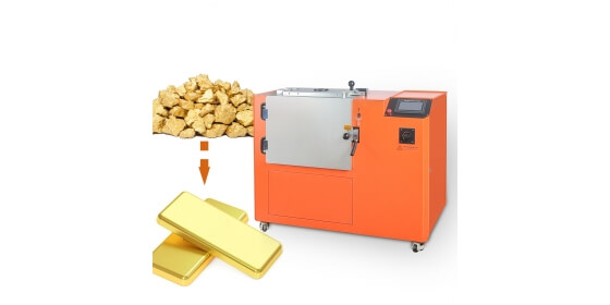 Yihui Brand Gold Bar Making Machine 4 KG