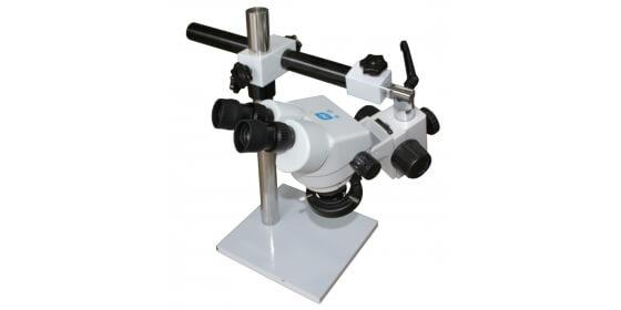 Zoom stereo stone setting microscope